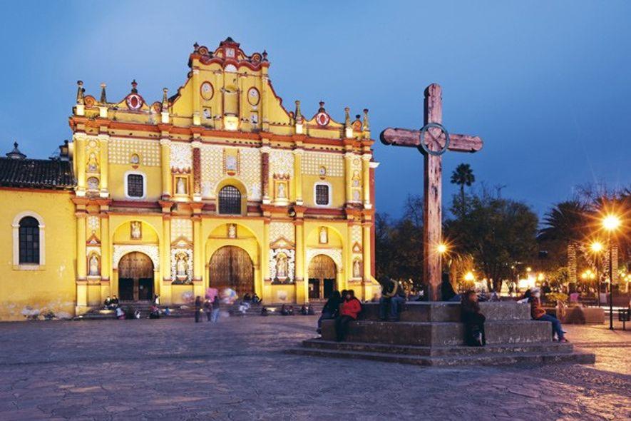 The cathedral of San Cristóbal de las Casas. Image: Alamy