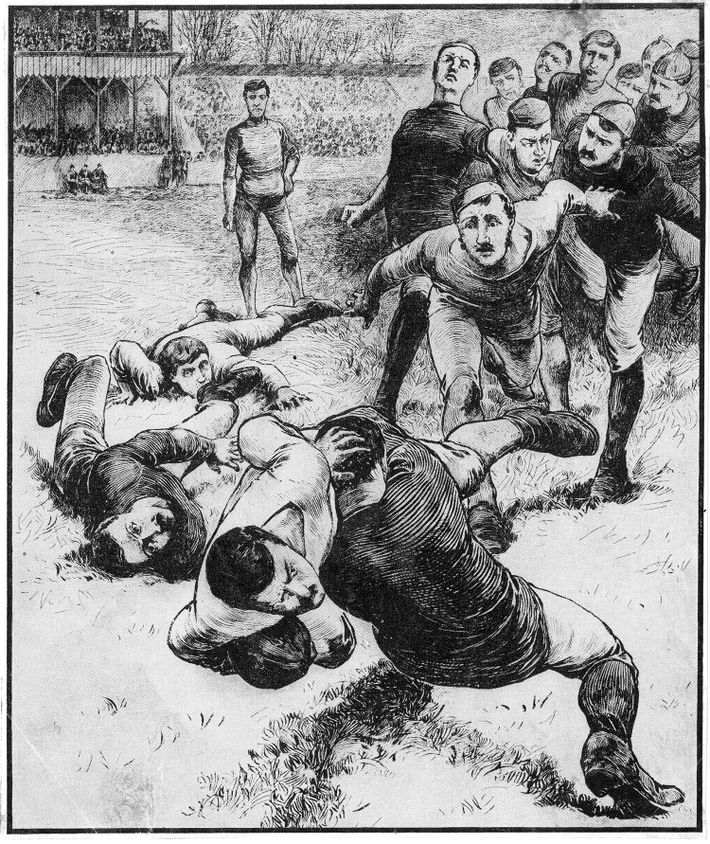 Violence has always been a part of football and rugby – but protection has remained optional.