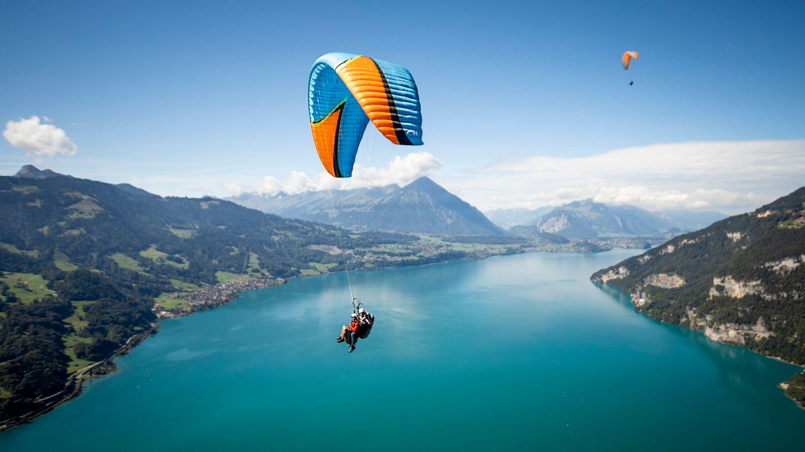 The Swiss town of Interlaken (meaning 'between the lakes') is an adventure playground.