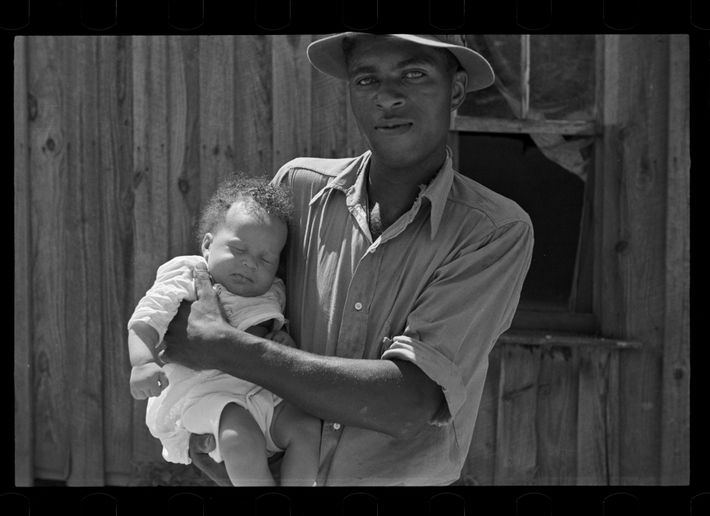 Tenant farmer, Lee County, Mississippi. August 1935.