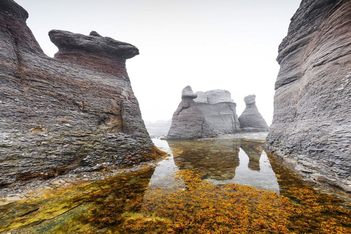 Famous for the largest concentration of erosion monoliths in Canada, the Mingan Archipelago National Park Reserve ...