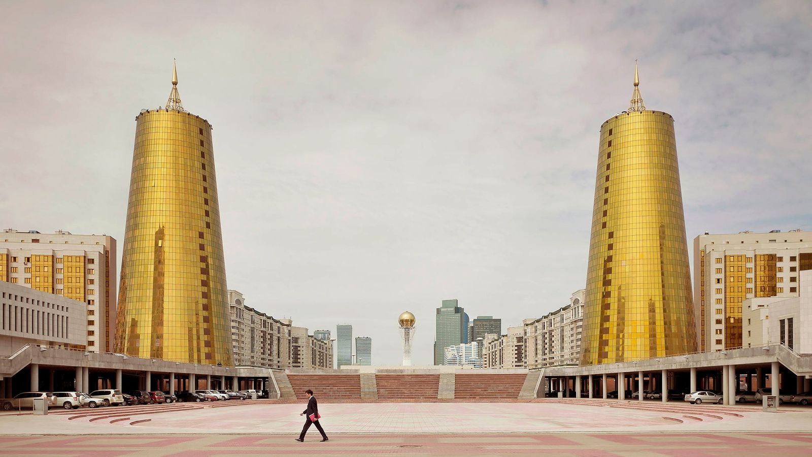 ASTANA, KAZAKHSTAN Ministry Buildings (2012)