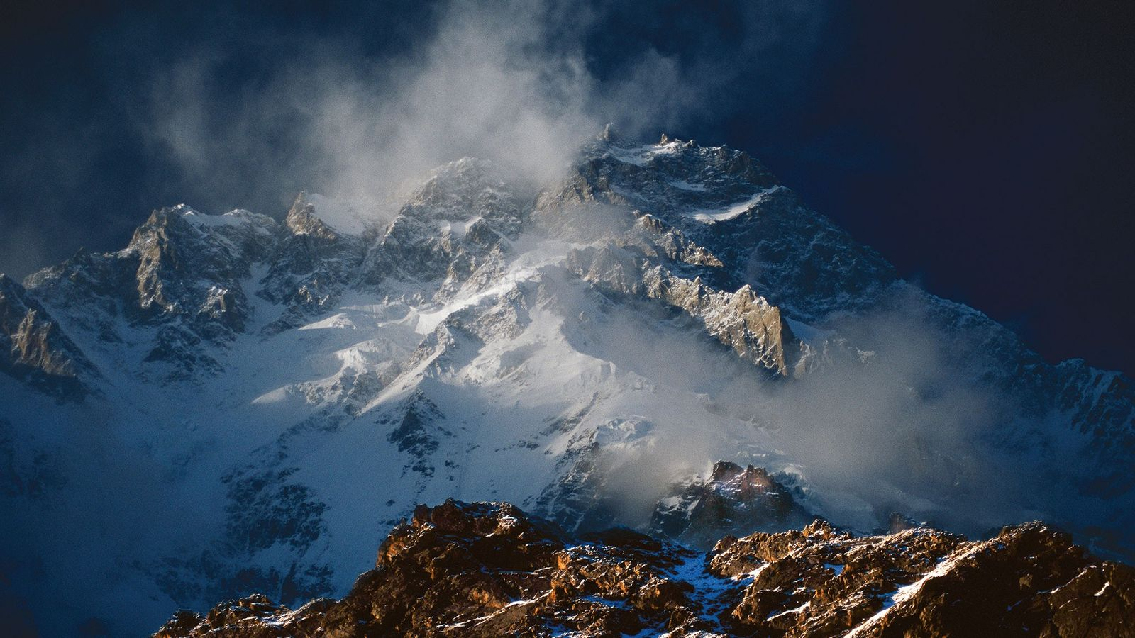 "Nanga Parbat, the world's ninth tallest mountain, is known as the ""Killer Mountain."" In 2018, two ..."