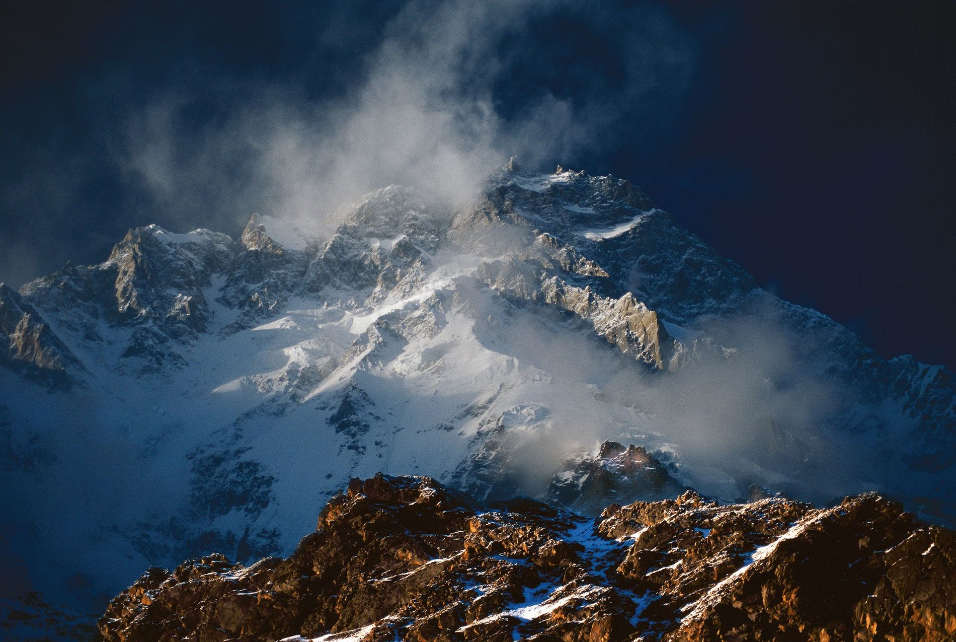 "Nanga Parbat, the world's ninth tallest mountain, is known as the ""Killer Mountain."" In 2018, two ..."