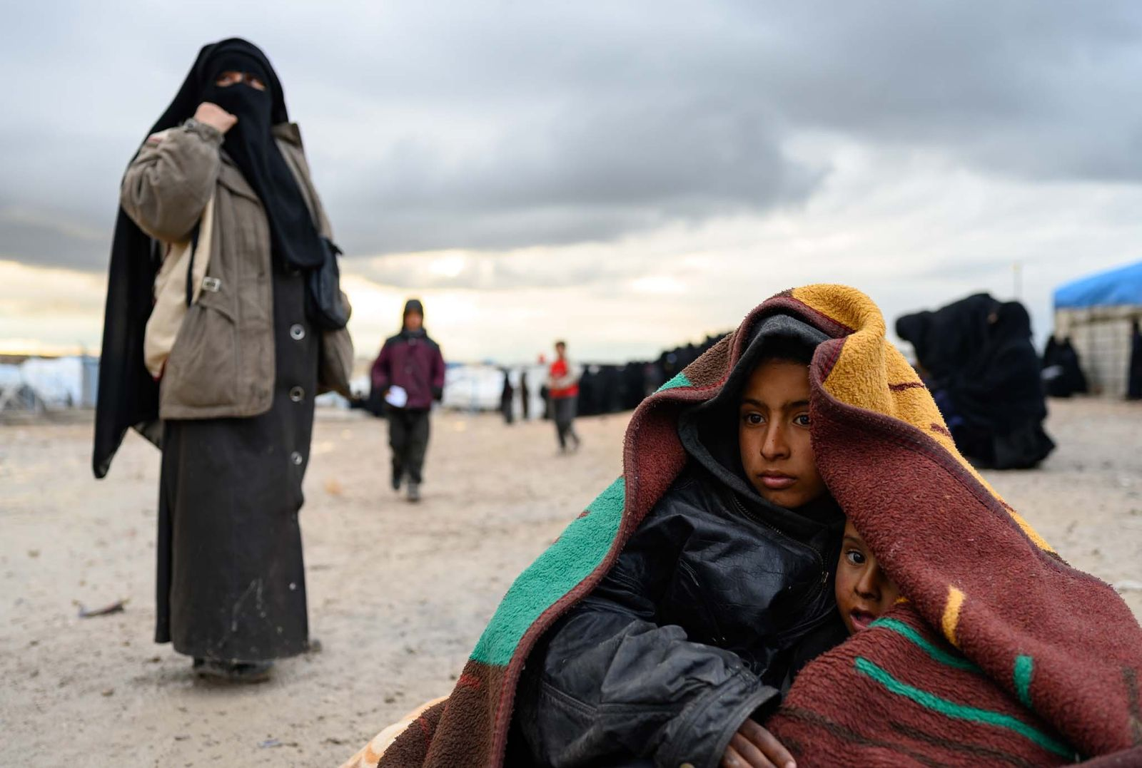 A humanitarian crisis emerges as ISIS falls in northern Syria