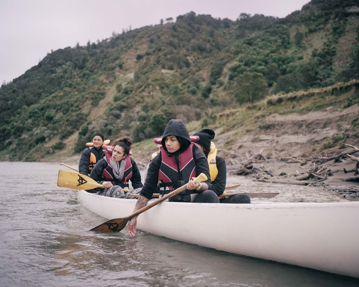 For many young Maori, a journey on the river is a journey for the soul. Often ...