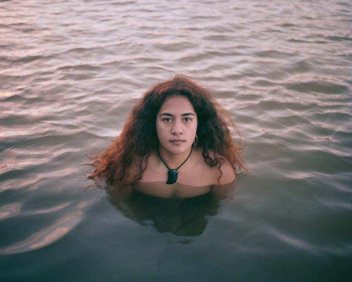 """Law student Te Wainuiarua Poa is a Whanganui Maori for whom the words: """"I am the ..."""