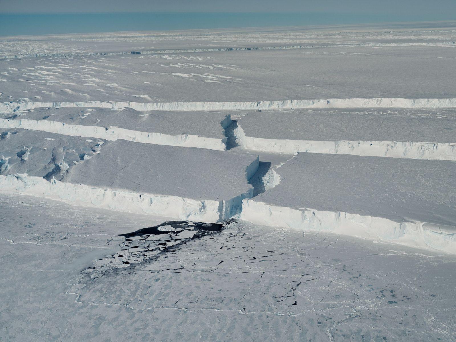 Exclusive photos: A giant iceberg breaks off Antarctica