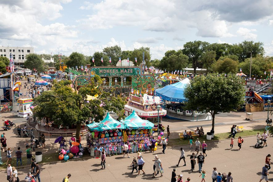 The Minnesota State Fair is the nation's second largest (after Texas).
