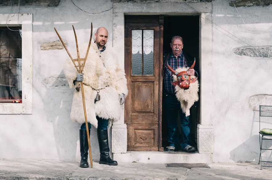 In Pictures: How Slovenia's monsters came back from the dead