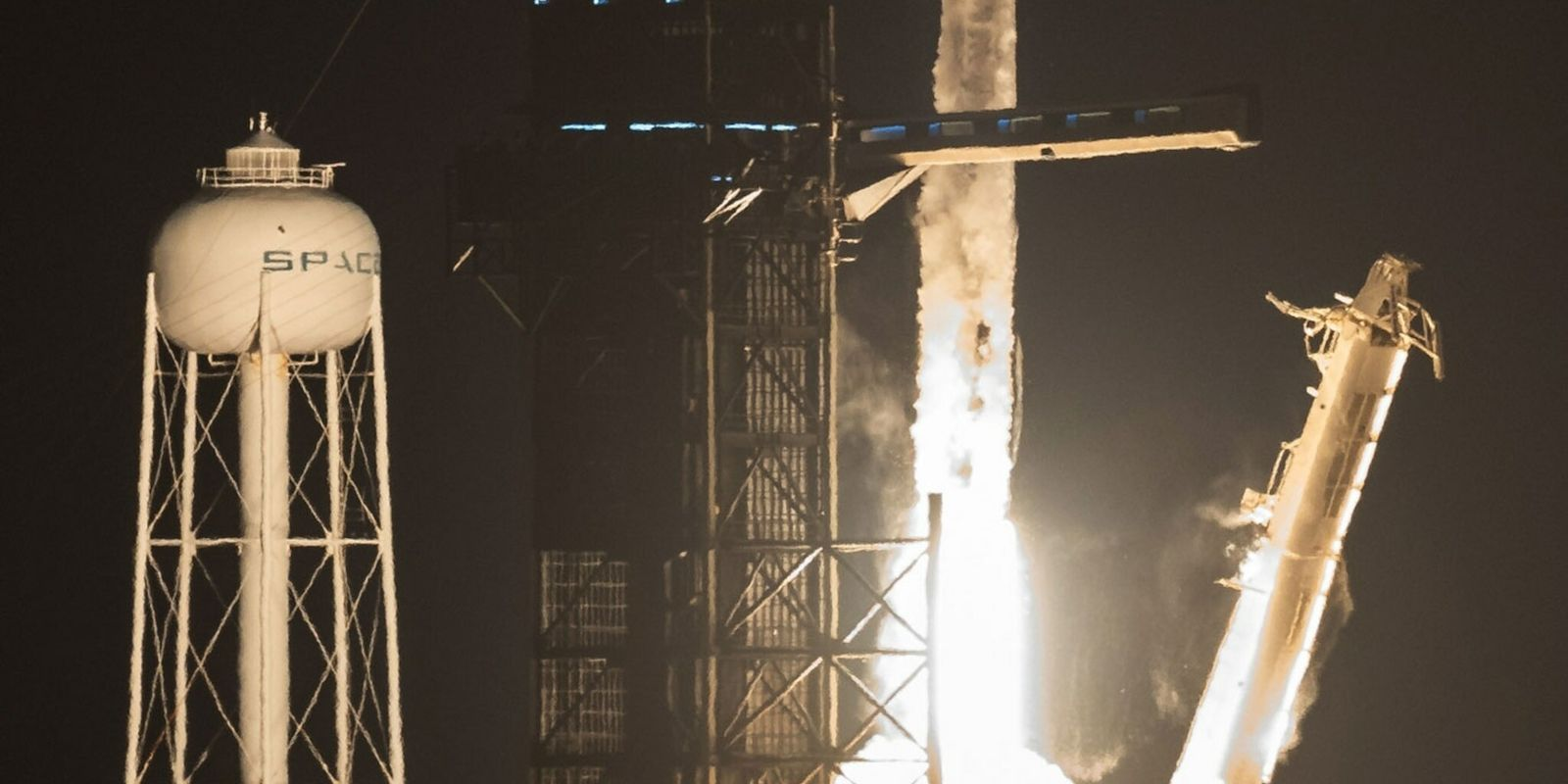 SpaceX launches first astronauts on a reused rocket
