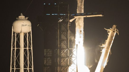 NASA's SpaceX Crew-2 mission launches