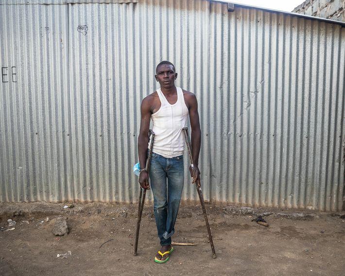 Job Wainana, 25, worked as a fisherman in Kasarani, on the north side of Lake Naivasha, ...