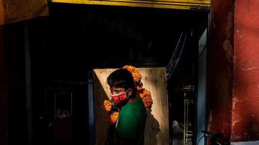 Across Latin America, the Day of the Dead was eerily silent