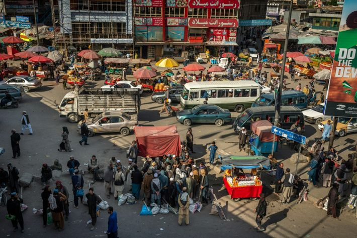Kote Sangi bazaar in western Kabul hums with early morning activity during the Islamic holy month of Ramadan, in April. Nearly all ...