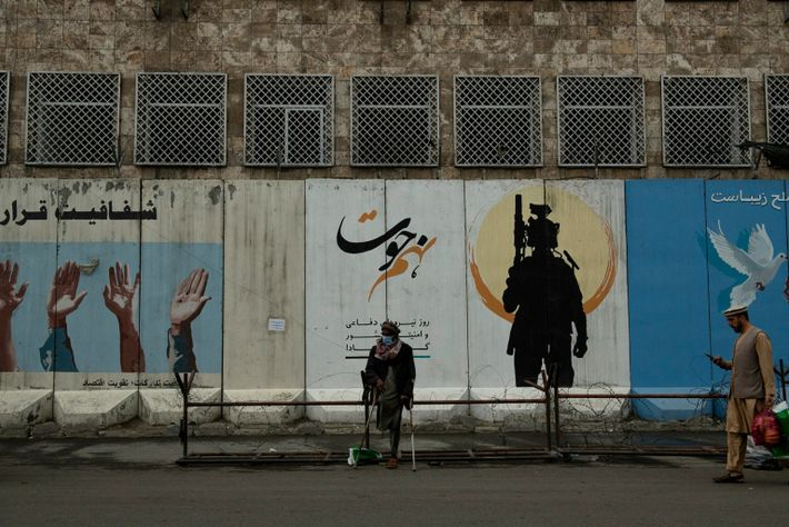 KABUL | KABUL | AFGHANISTAN | 5/1/21 | Downtown area of Kabul. Almost everywhere on streets, ...