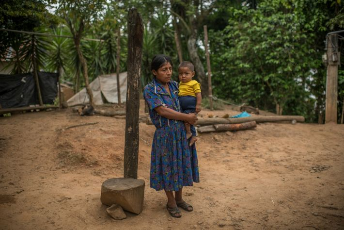 Modesta Ramírez lives with her in laws in a hamlet called La Palmilla in Guatemala's dry ...
