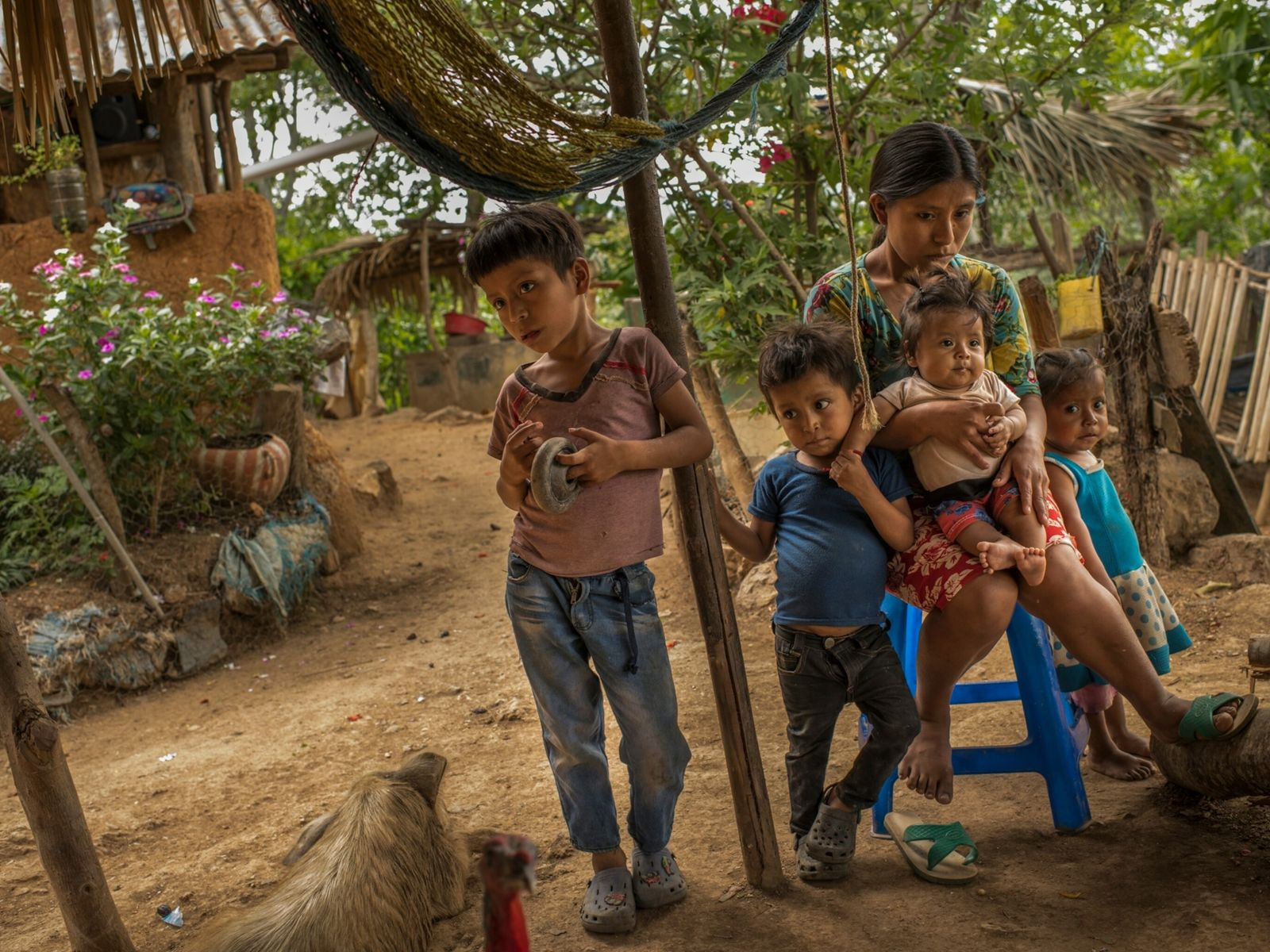 Hunger is a familiar feeling for families like María Elisa García's in a region of far ...