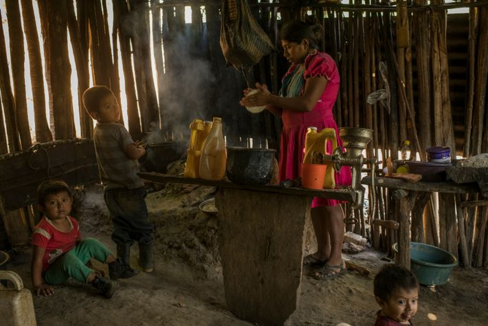 When a pair of hurricanes hit the region in fall 2020, Rubidia Díaz, shown here cooking ...