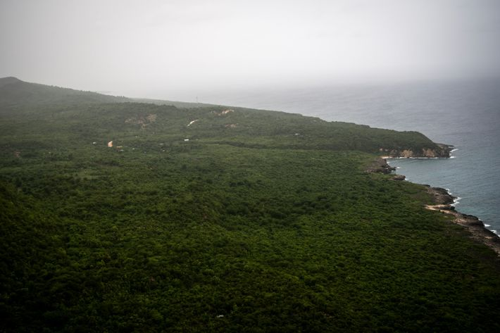 The western reaches of Haiti's southern peninsula are mountainous and mostly rural areas of banana and ...