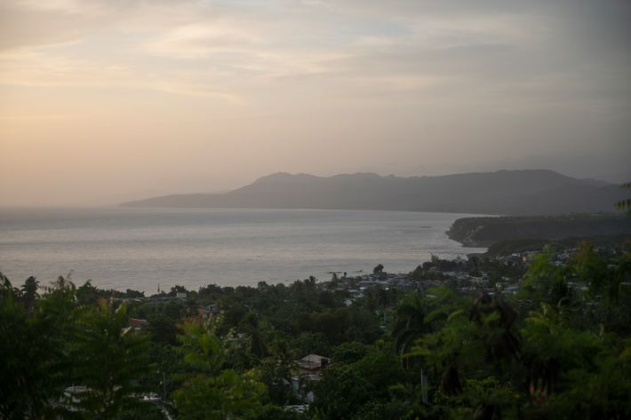The sun rises along the northern coast of Haiti's southern peninsula—known for its rural beauty. It ...