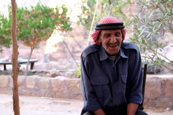 Mofleh Bdoul relies on the influx of tourism to make his living.