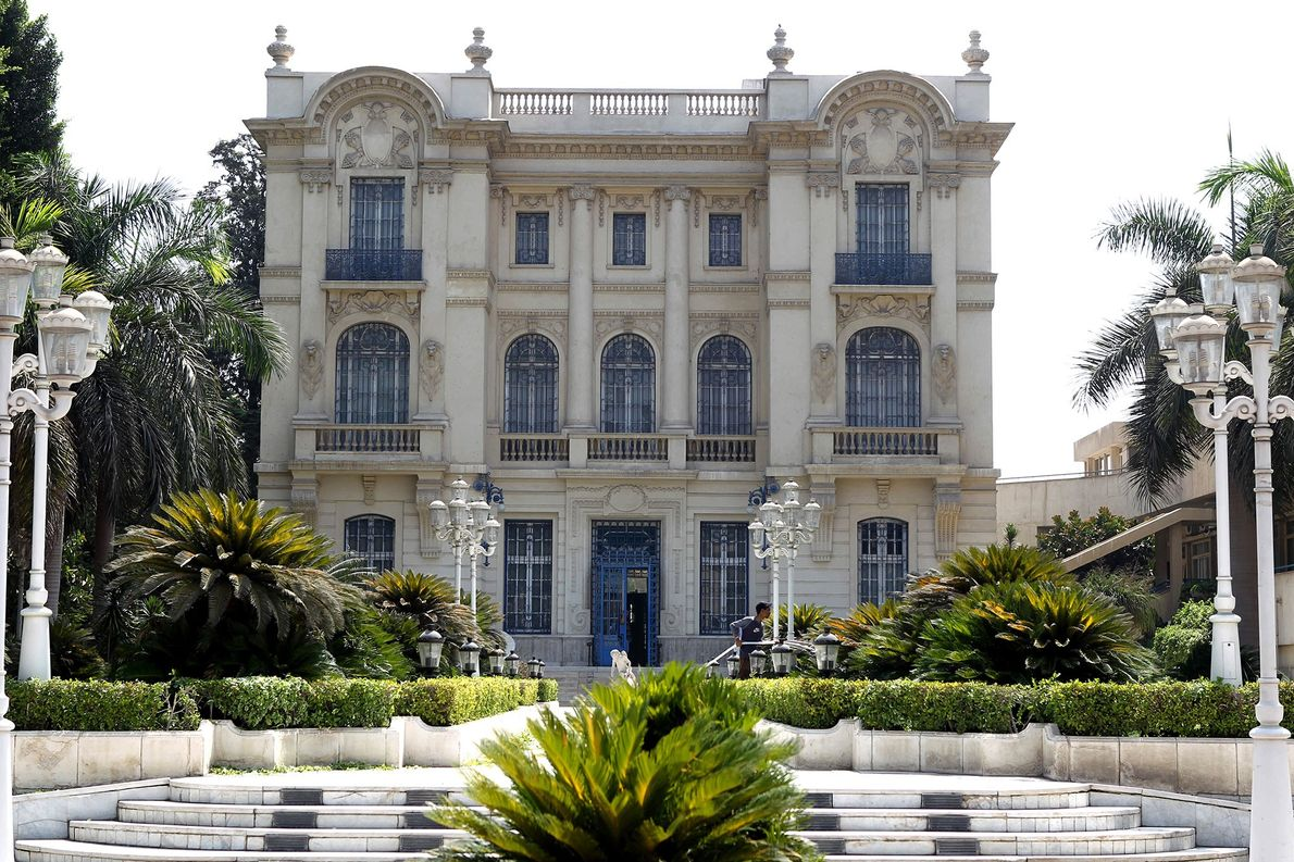 Named for a former Prime Minister of Egypt, the Mohammed Mahmoud Khalil Museum in Cairo, Egypt …