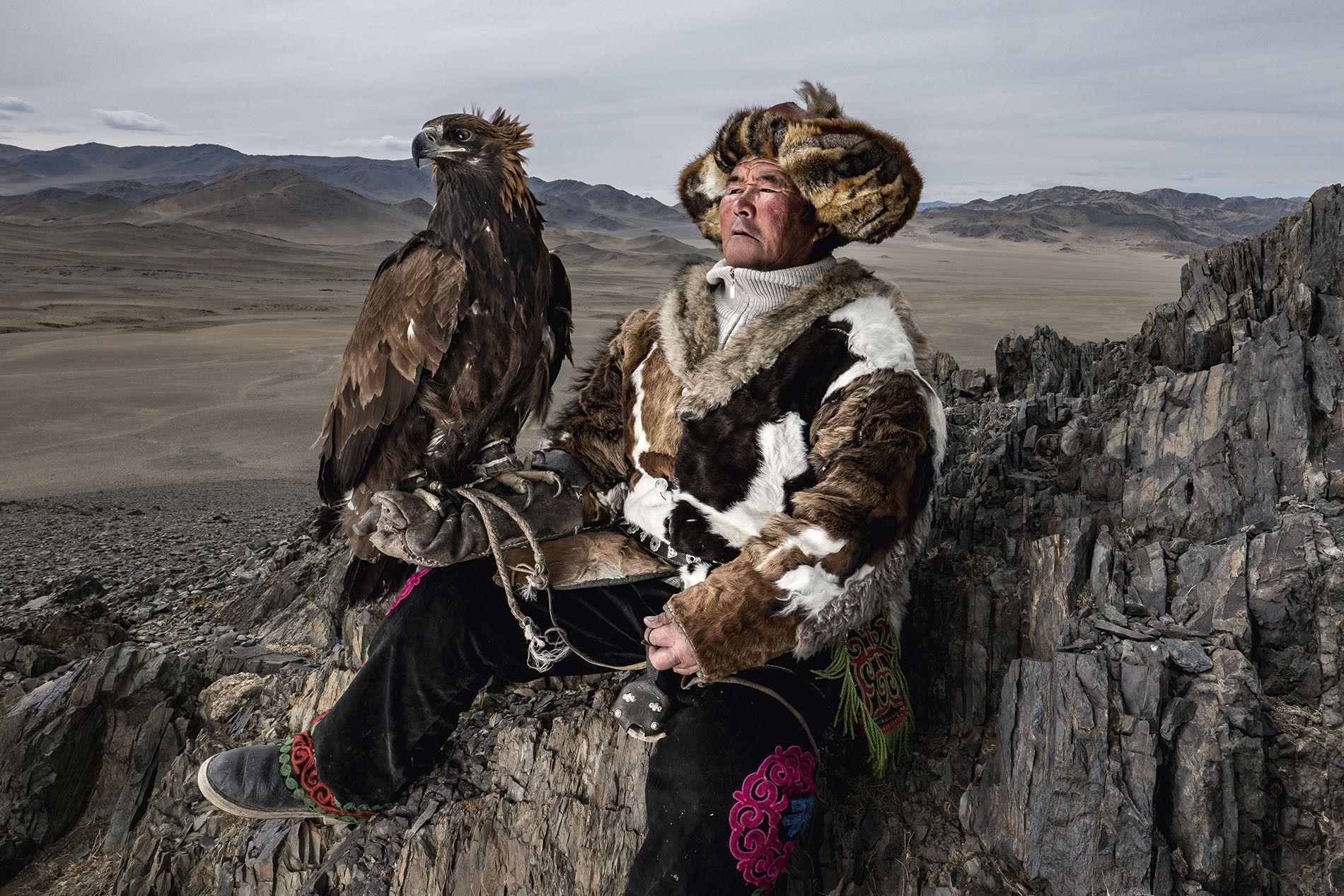 Hunter in Mongolia