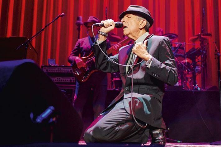 Leonard Cohen in Montreal.