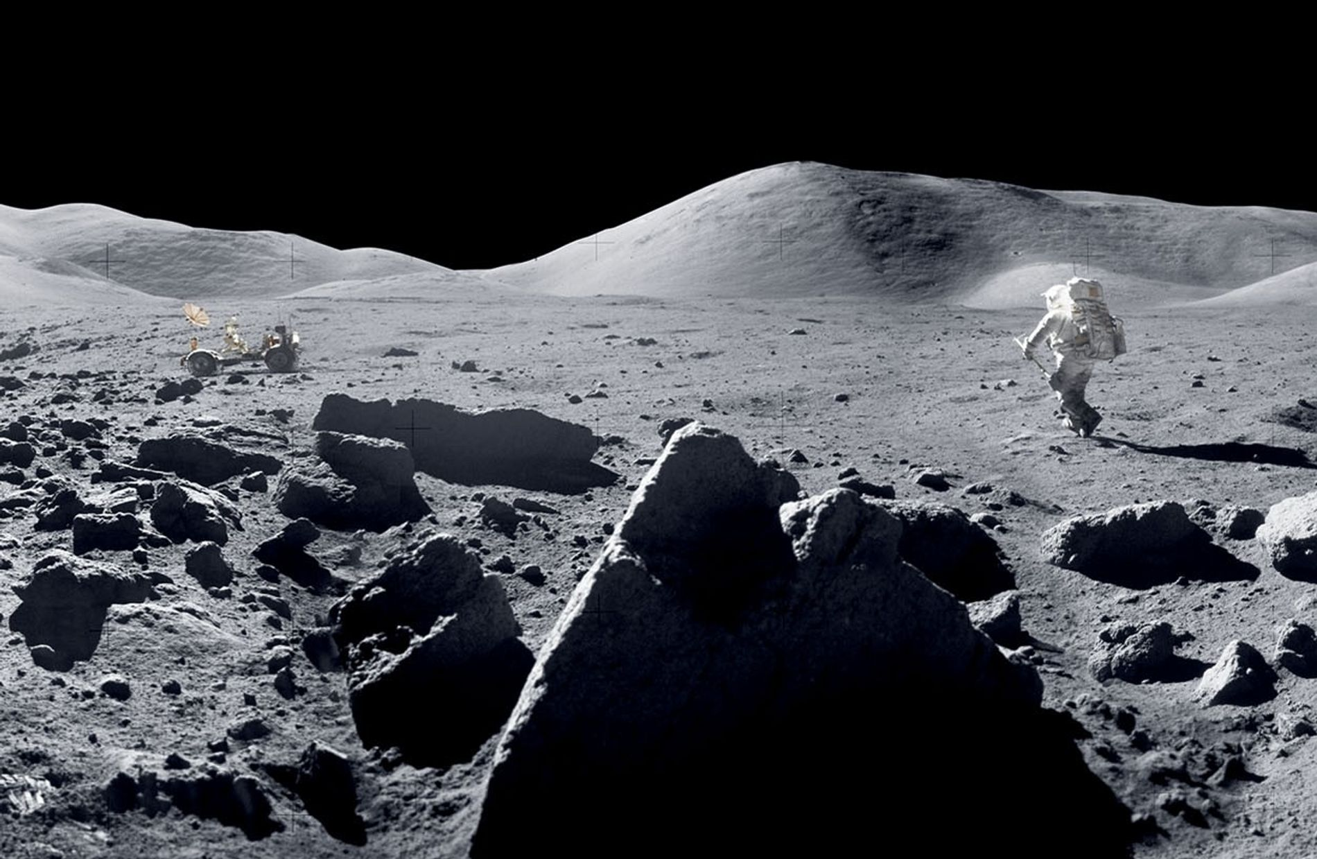 50 Years on The Moon