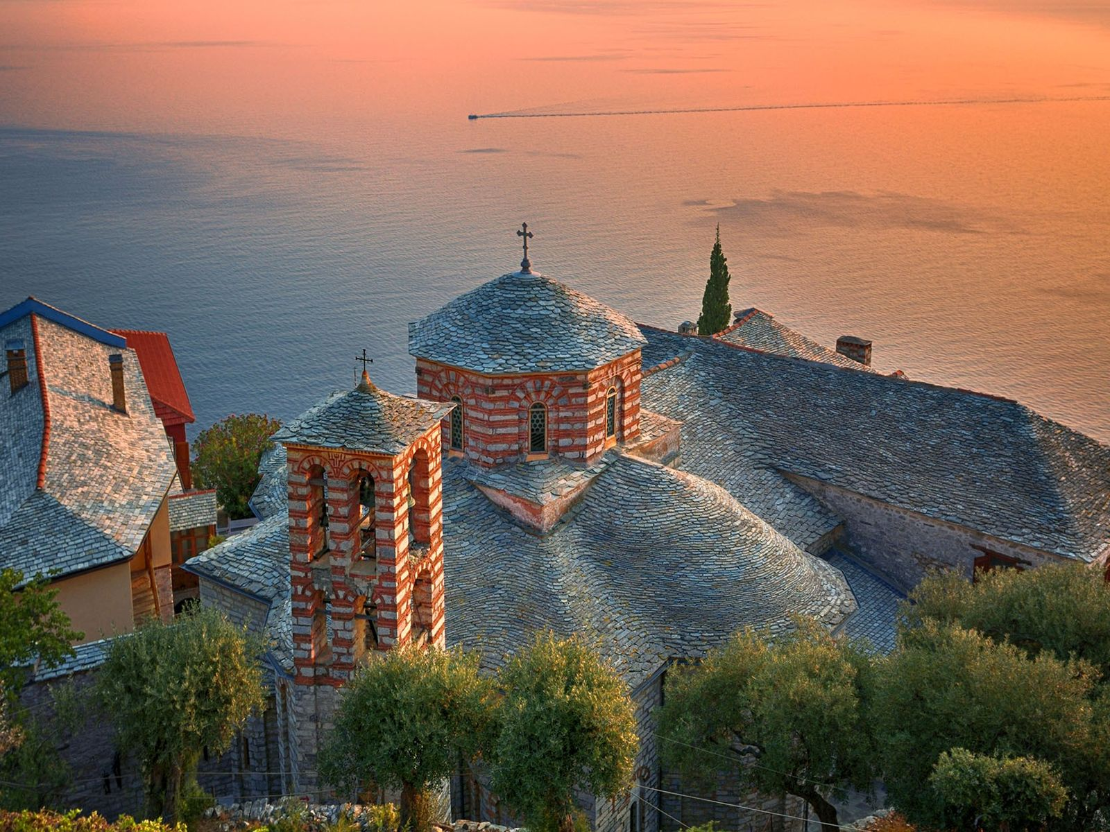 Mount Athos is home to the oldest surviving monastic community on Earth.