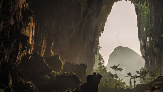 Step inside this massive cave labyrinth hidden under Borneo