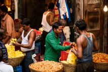 A flower market in Mumbai. This city is home to two Londons' worth of people in an area less ...