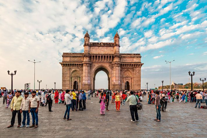 Gateway of India, in the neighbourhood of Fort, was famously built to commemorate the arrival to ...