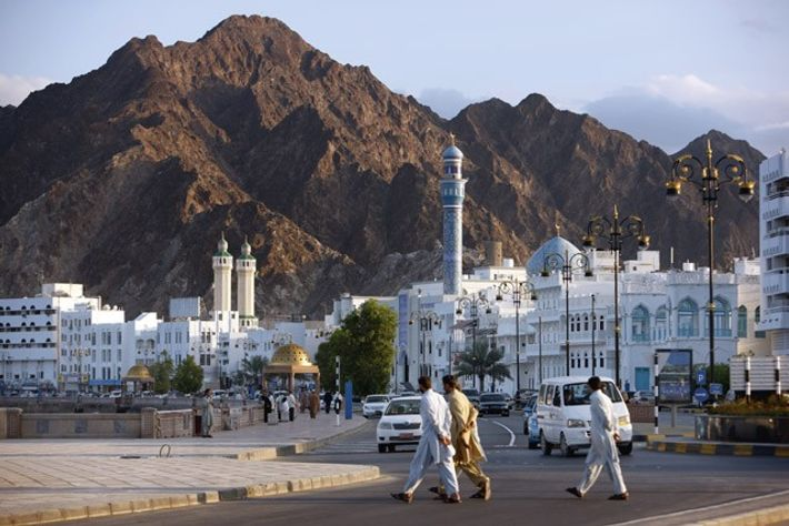 The old town souks, Mutrah, Muscat. Image: Getty