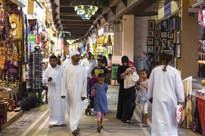 The old Mutrah souk. Image: Getty