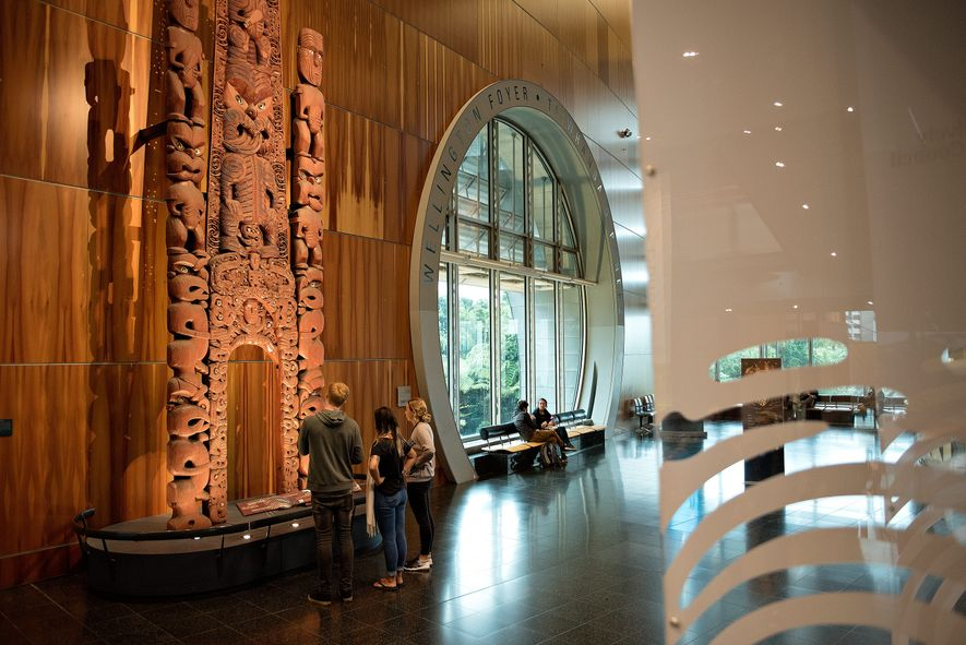 The Museum of New Zealand Te Papa Tongarewa has free general admission and is home to ...