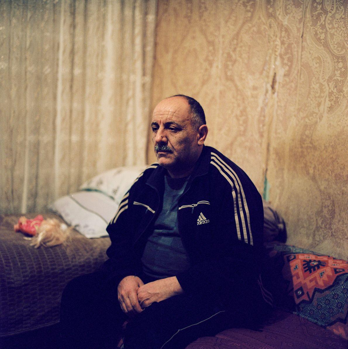 Mazahir Adigezalov fled Ağdam in 1993 and now lives in the city of Mingechevir in a ...