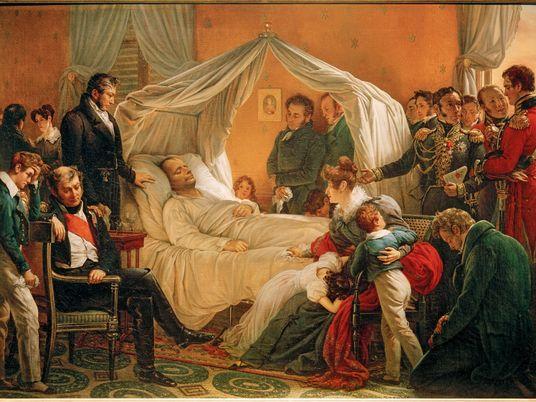'The Death of Napoleon' captures the end of a tumultuous era