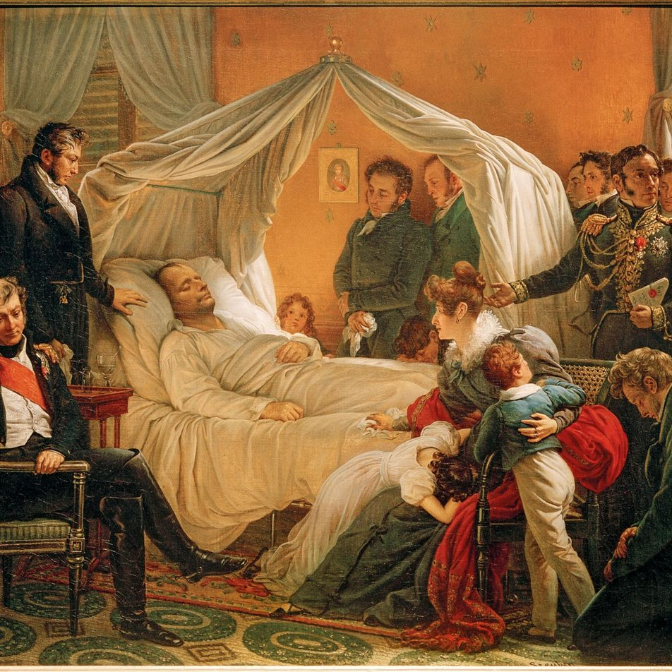 'The Death of Napoleon' captures the end of a tumultuous era