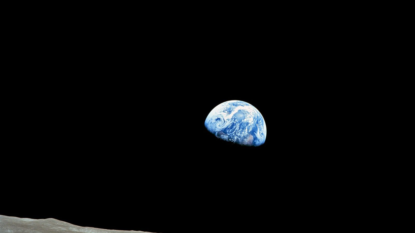 Apollo 8, the first mission to carry humans to the moon, entered lunar orbit on December ...