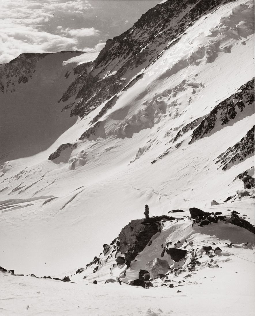 Barbara Washburn's second ever hike was up the 13,628-foot Mount Hayes, in 1941. Six years later ...