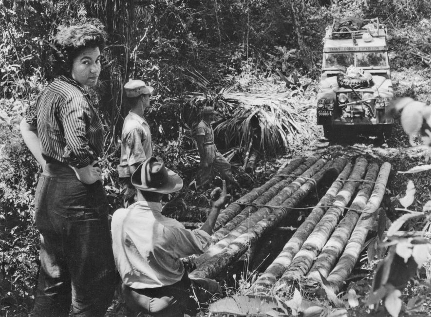 In 1960 Panamanian anthropologist Reina Torres de Araúz was part of the first team to drive ...
