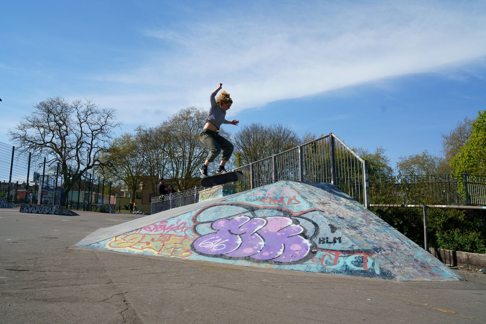Dean Lane is a concrete lover's dream, with ramps and banks, curved bowl corners and a huge pump ...