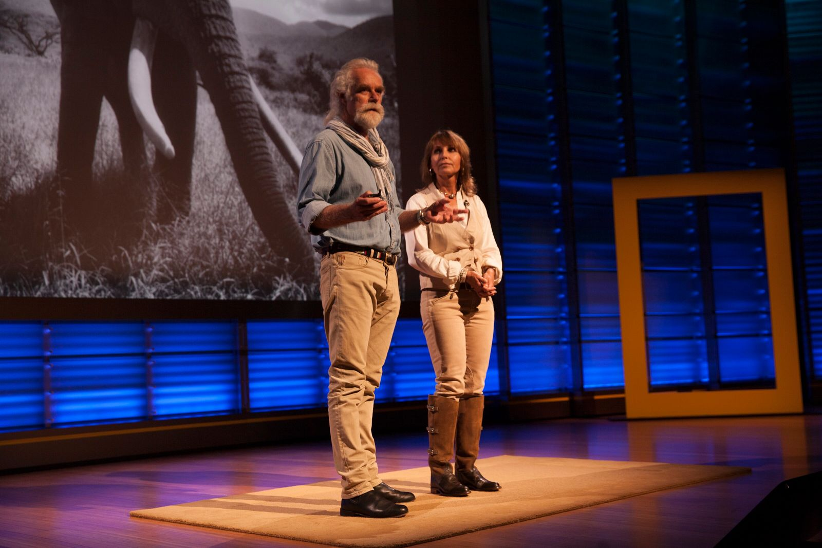 """""""As conservationists we will use every media and medium to be able to speak out for ..."""