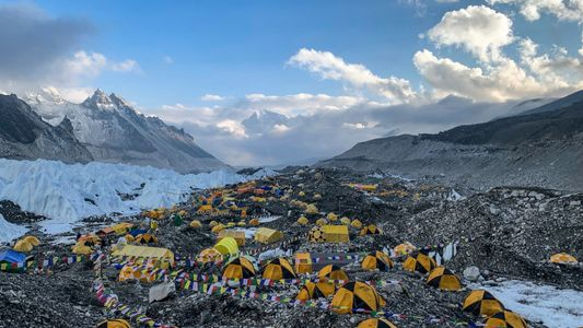 What does a COVID-19 outbreak mean for life at Everest's base camp?