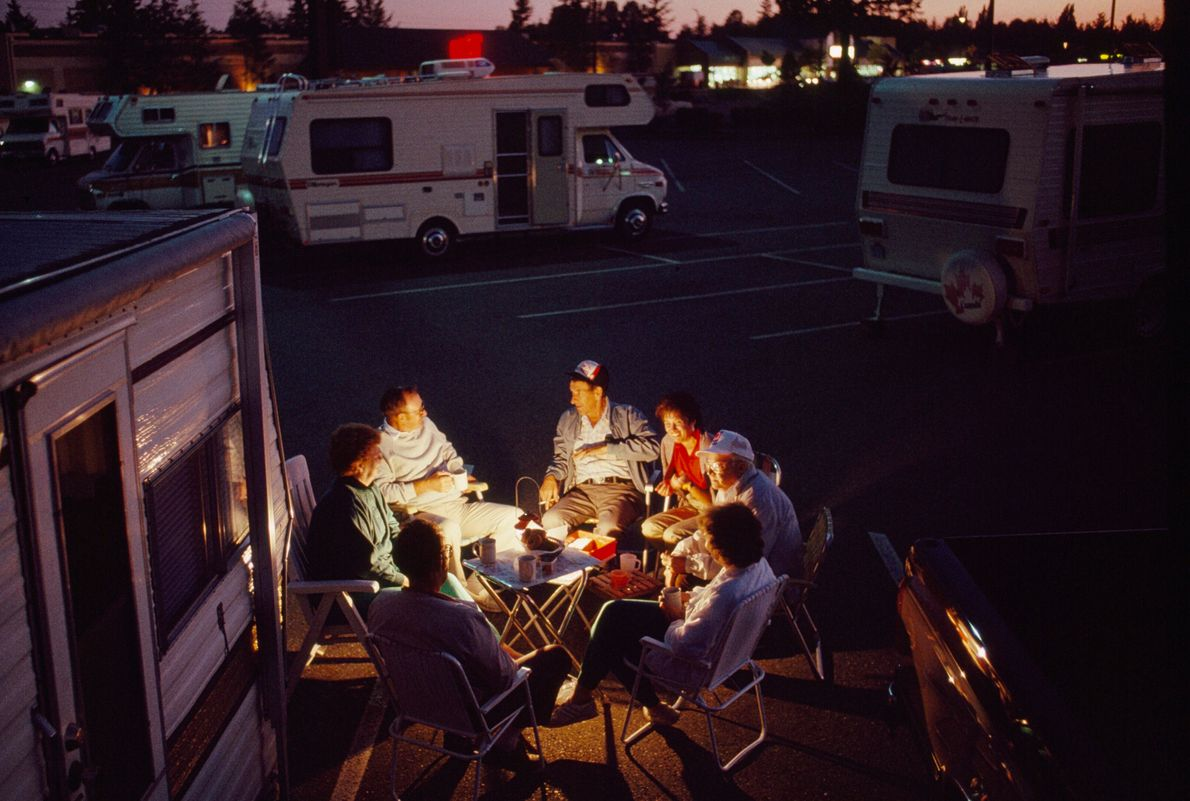 A February 1990 story looked at the lives on either side of the Canada-U.S. border. In ...