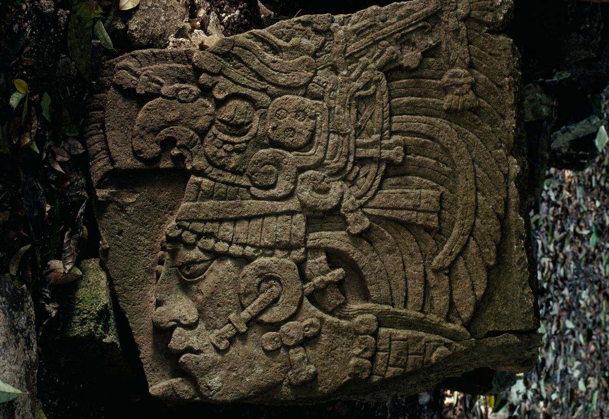 A February 1993 story documented an archaeological dig for Mayan artifacts in northern Guatemala. One item ...