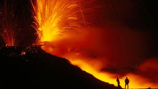 Vibrant Volcano