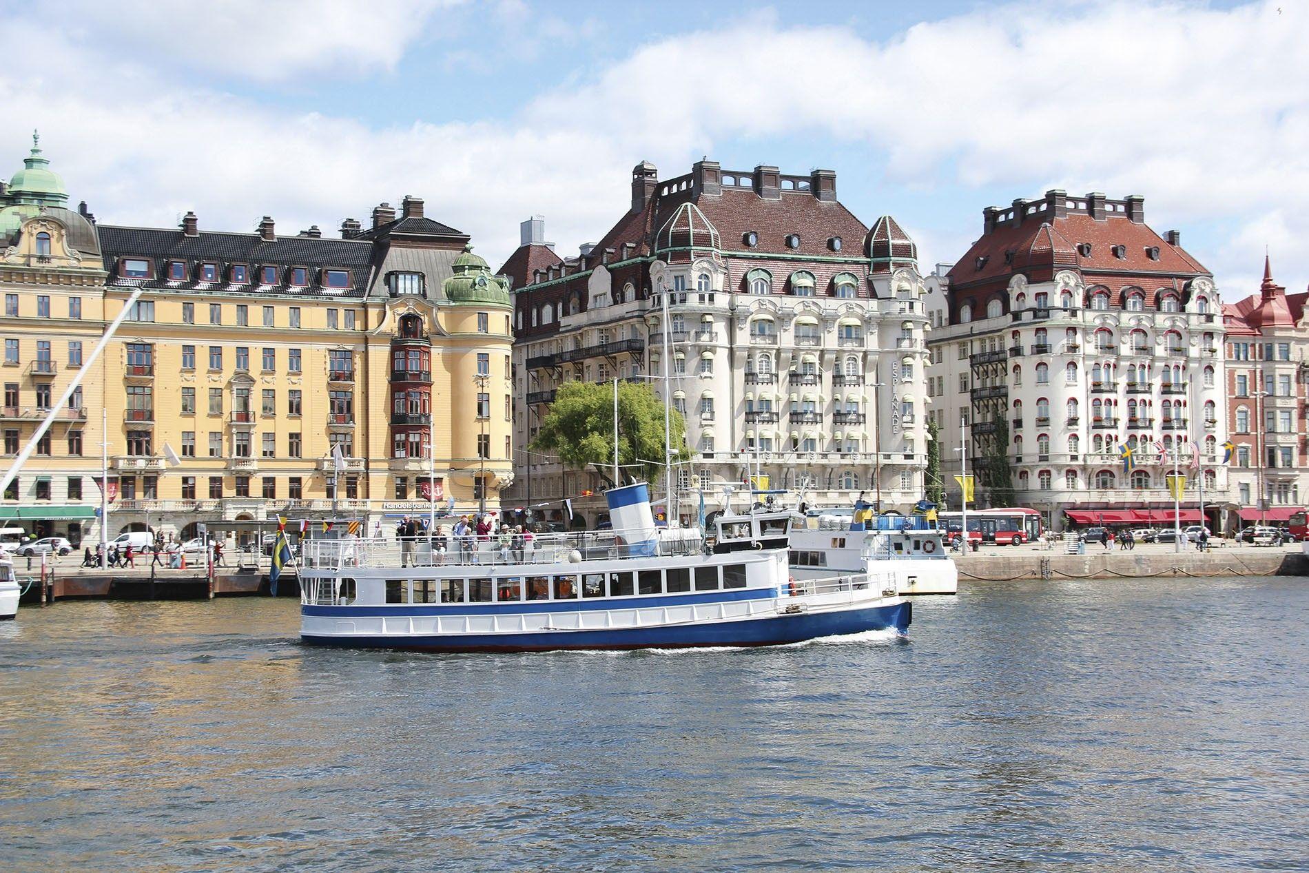 The waterways of Stockholm